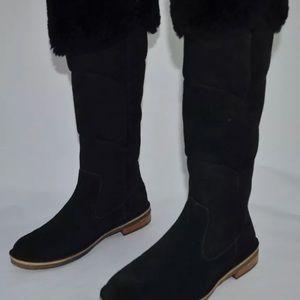 Ugg over the knee SAMANTHA tall boots black rare